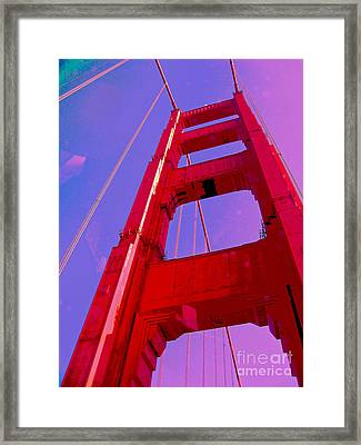 Gold Rush Framed Print by Molly McPherson