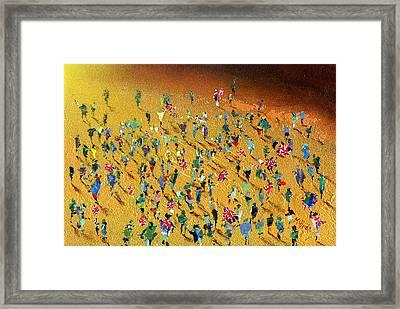 Gold Rush Framed Print by Neil McBride