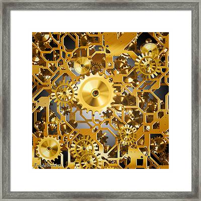 Gold Time.  Framed Print by Tautvydas Davainis