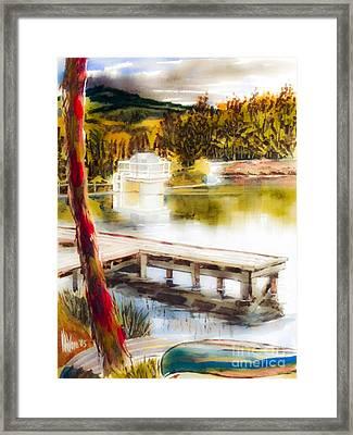 Golden Afternoon Framed Print by Kip DeVore