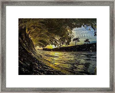 Golden Arch Framed Print by David Alexander