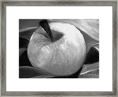 Golden Delicious Modified Framed Print by Terry Weaver