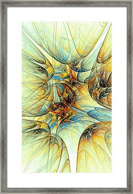 Golden Fleece Framed Print by Anastasiya Malakhova