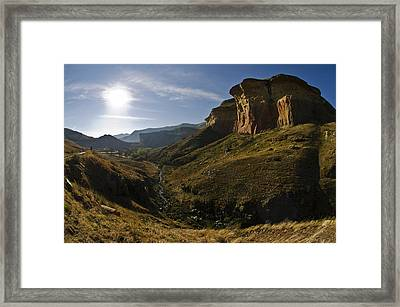 Golden Gate Framed Print by Aaron S Bedell
