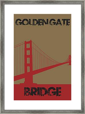 Golden Gate Bridge Framed Print by Joe Hamilton