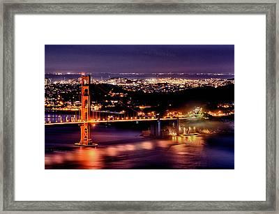 Golden Gate Bridge Framed Print by Robert Rus
