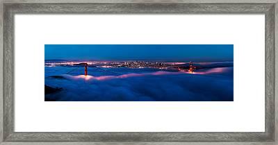 Golden Gate Framed Print by Francesco Emanuele Carucci