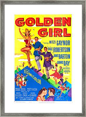 Golden Girl, Us Poster, From Top Mitzi Framed Print by Everett