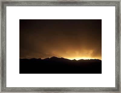 Golden Glow Framed Print by Marilyn Hunt