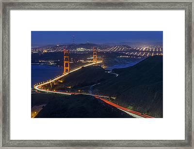 Golden Glow Framed Print by Rick Berk