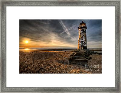 Golden Light Framed Print by Adrian Evans