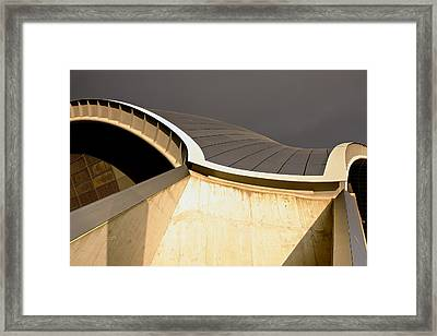 Golden Light Hits The Sage Framed Print by Stephen Taylor