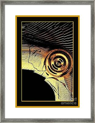 Golden Nile Framed Print by Cindy McClung