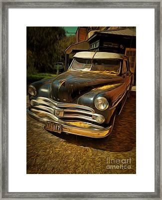 Golden Oldie Framed Print by Claire Bull