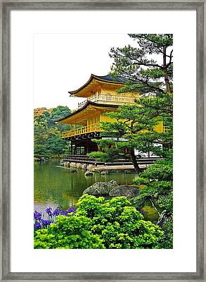Golden Pavilion - Kyoto Framed Print by Juergen Weiss