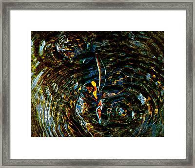 Golden Ripples Framed Print by Lehua Pekelo-Stearns
