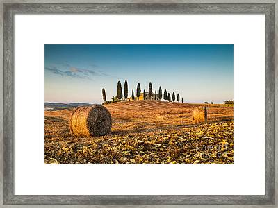 Golden Tuscany 2.0 Framed Print by JR Photography