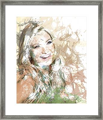 Goldie's Girl Framed Print by Anthony Caruso