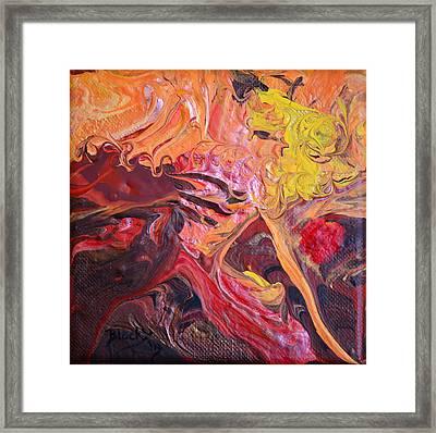 Goldilocks' Dementia Framed Print by Donna Blackhall