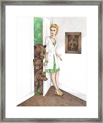 Goldilocks Framed Print by Emily Bostwick