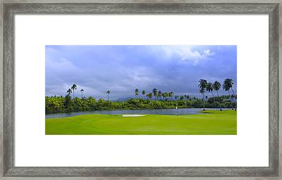 Golfer's Paradise Framed Print by Stephen Anderson