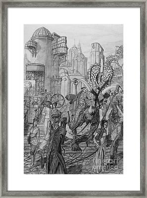 Gomorra Framed Print by George  Harrison