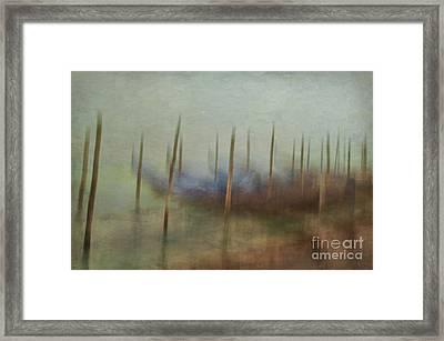 Gondolas 2  Framed Print by Marion Galt