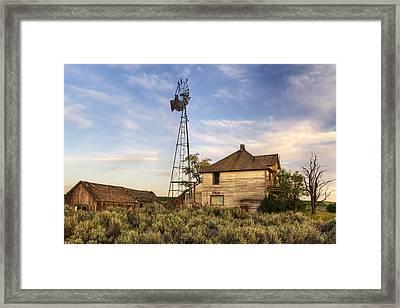 Gone But Not Forgotten Framed Print by Mark Kiver