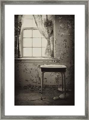 Gone Framed Print by Rebecca Skinner