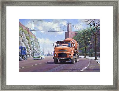 Good Mixer Framed Print by Mike  Jeffries