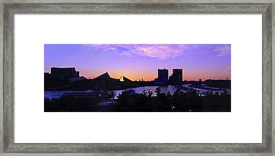 Good Morning Baltimore Framed Print by Marianne Campolongo