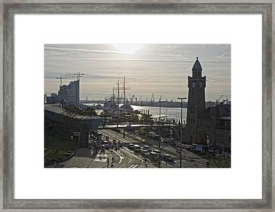 good morning Hamburg Framed Print by Joachim G Pinkawa