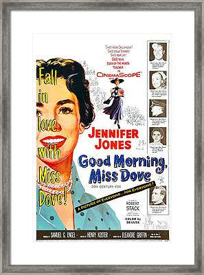Good Morning, Miss Dove, Us Poster Framed Print by Everett