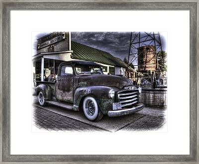 Good Old Days Framed Print by Thomas Young