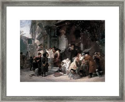 Goodall, Frederick 1822-1904. The Framed Print by Everett
