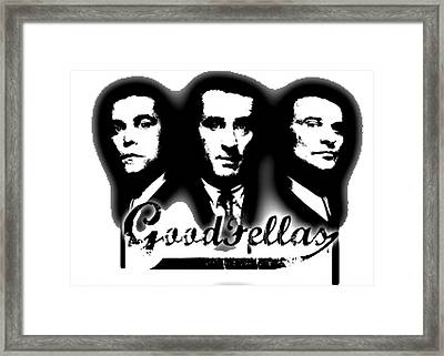 Goodfellas Framed Print by Guido Prussia