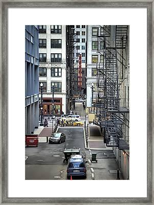 Goodman Chicago Framed Print by Scott Norris