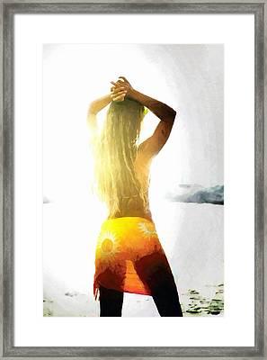 Goodmorning Sunshine Framed Print by Gun Legler