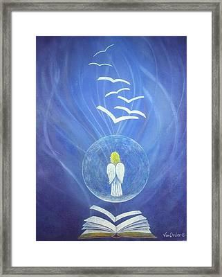 Goodnews Healing Framed Print by Richard Van Order