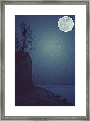 Goodnight Moon Framed Print by Carrie Ann Grippo-Pike