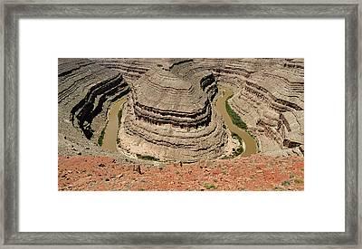 Goosenecks - San Juan River Framed Print by Christine Till