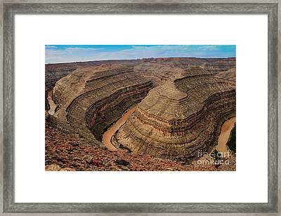 Goosenecks State Park Framed Print by Robert Bales