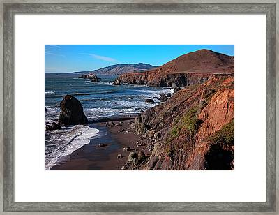 Gorgeous Sonoma Coast Framed Print by Garry Gay