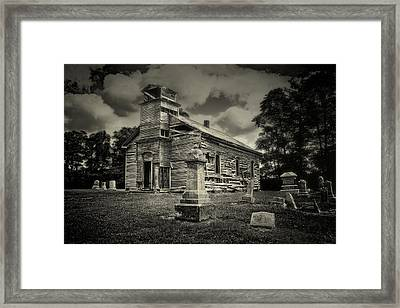 Gospel Center Church II Framed Print by Tom Mc Nemar