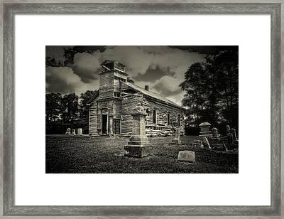 Gospel Center Church II Framed Print by Tom Mc Nemar
