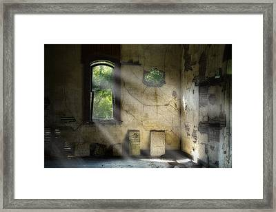 Gospel Center Church Interior Framed Print by Tom Mc Nemar