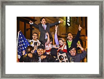 Got Bin Laden Framed Print by Theodore Jones
