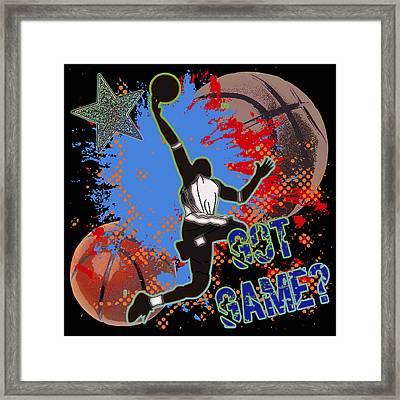 Got Game? Framed Print by David G Paul