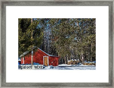 Got Wood Framed Print by Paul Freidlund