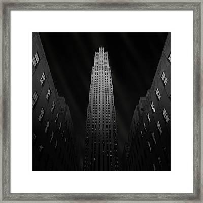 Gotham Framed Print by Ben Rea
